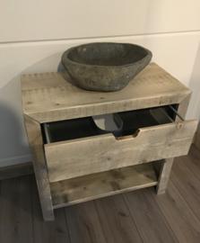 Badkamermeubel met lade en legplank