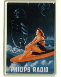 Philips Radio 20 x 30 cm