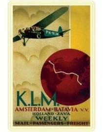 KLM Batavia 30 x 40 cm