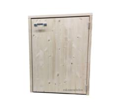 Wasmachine ombouw enkelvoudig met deurtje