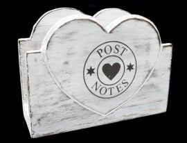 Postbak Hart in Antique White