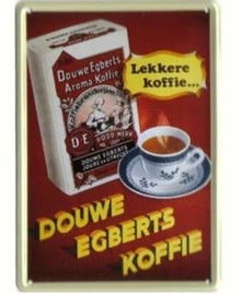 Douwe Egberts koffie 30 x 40 cm