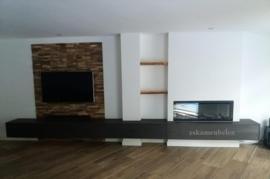 Tv meubel 'Diar' van eikenhout