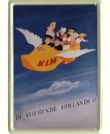 KLM Vliegende Hollander 20 x 30 cm