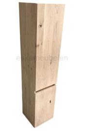 Kolomkast 'Elias' van eikenhout