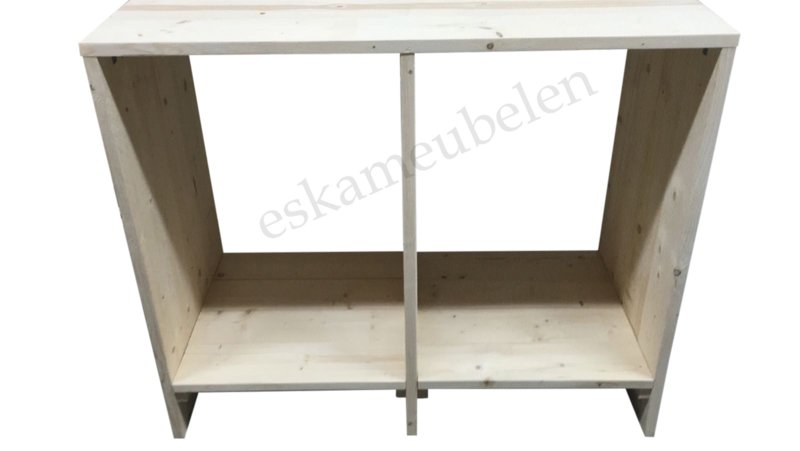 Wasmachine ombouw met verhoging van +/- 20 cm.