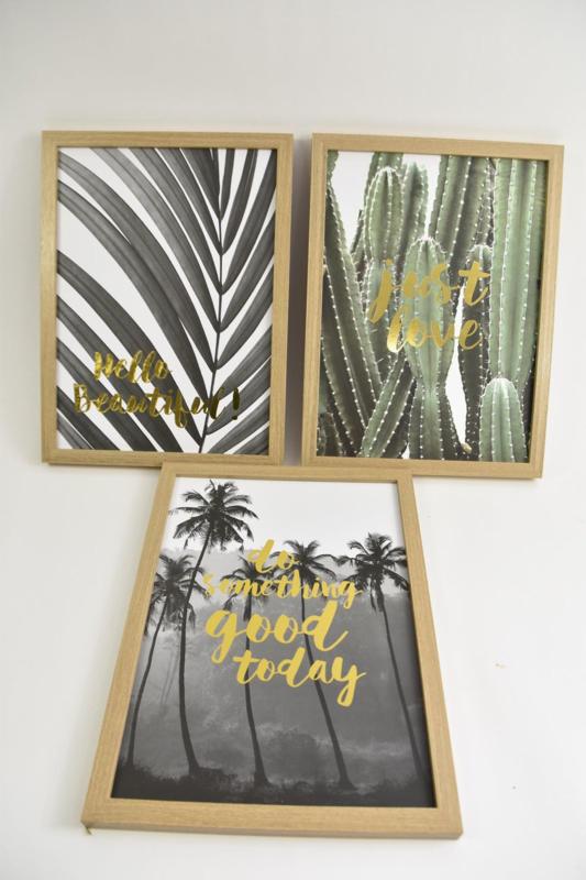 Wanddecoratie bord