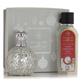 Ashleigh & Burwood Christmas set Twinkle Star Lamp + 250ml White Christmas Oil