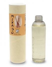 Boles d'olor Mikado Woodies Naturel - Katoen geurstokjes