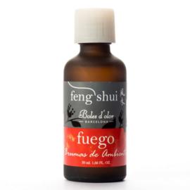 Boles d'olor geurolie Feng Shui Fuego