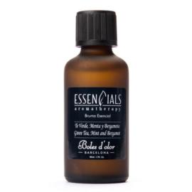 Boles d'olor etherische olie Té Verde, Menta y Bergamota
