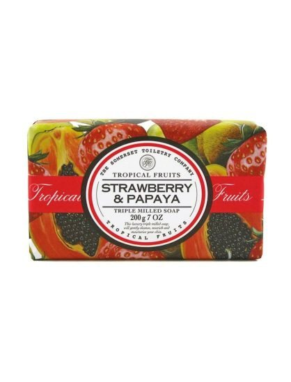 Strawberry & Papaya Soap bar