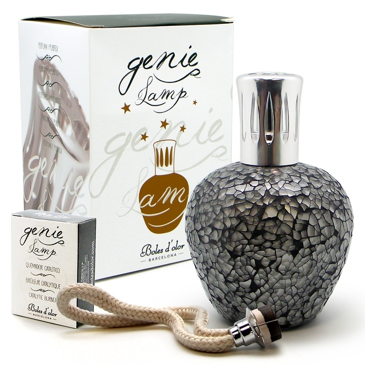 Boles d'olor Fragrance Lamp Elipse Mosaic - zwart