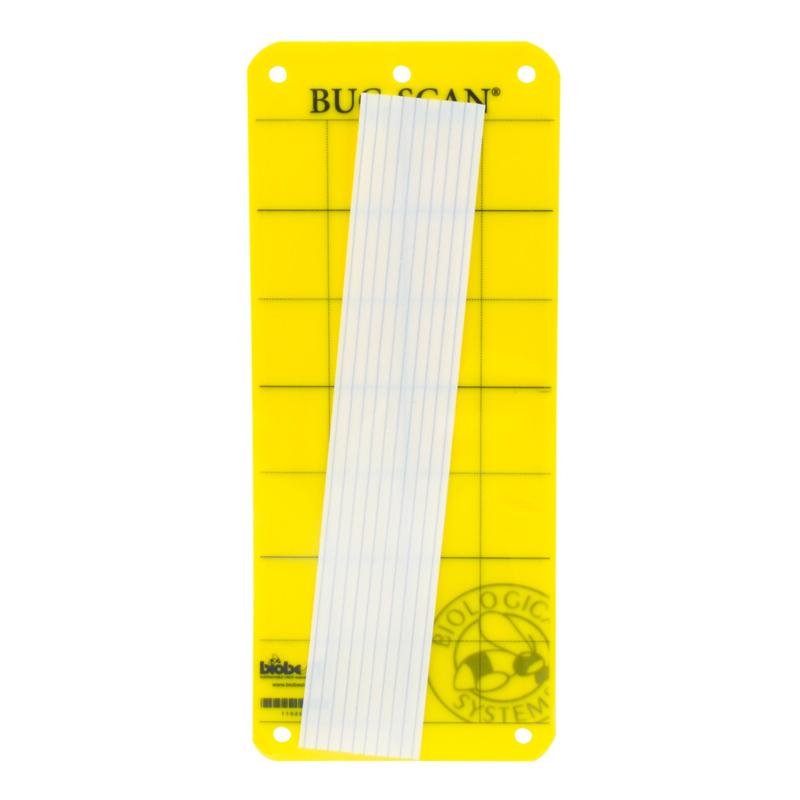 Vangplaat (10 stuks) geel