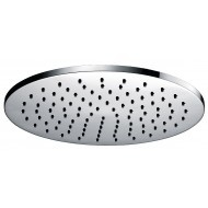 Luxe messing hoofddouche rond 300mmx8mm chroom