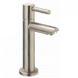 """Amador XL KIWA toiletkraan hoog keramisch 1/2"""" geborsteld staal"""
