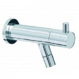 "Amador Toiletkraan muurbevestiging 1/2"" chroom"