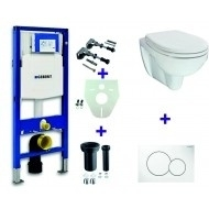 Geberit Duofix UP 320 + Trevi combi pack + Sigma 01 wit