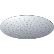 UFO Luxe hoofddouche rond 300mm Ultra plat chroom