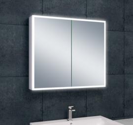 Wiesbaden Quatro spiegelkast + verlichting 80x70x13