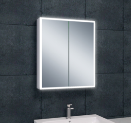 Wiesbaden Quatro spiegelkast + verlichting 60x70x13