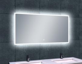 Wiesbaden Quatro-Led dimbare condensvrije spiegel 1200x600