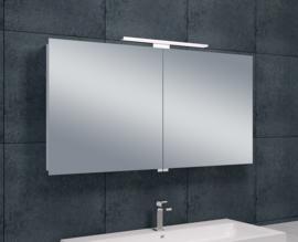 Wiesbaden Luxe spiegelkast + Led verlichting 120x60x14cm