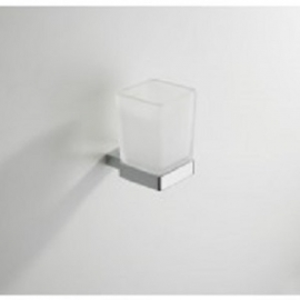 Eris glashouder met glas chroom