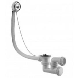 Badafvoer in combinatie met overloop ketting en plug