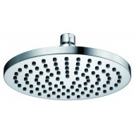 Luxe messing hoofddouche rond 200mmx12mm chroom