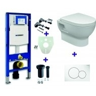 Geberit Duofix UP-320 + Mercurius combi Pack + Sigma 01 wit