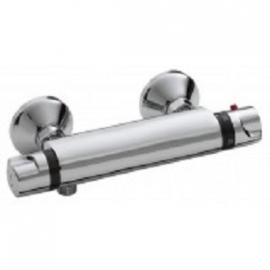 Universal thermostatische douchemengkraan 12cm chroom
