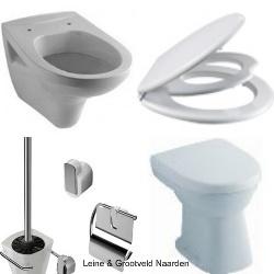 Wandcloset toilet toiletzitting closetbril wc pot