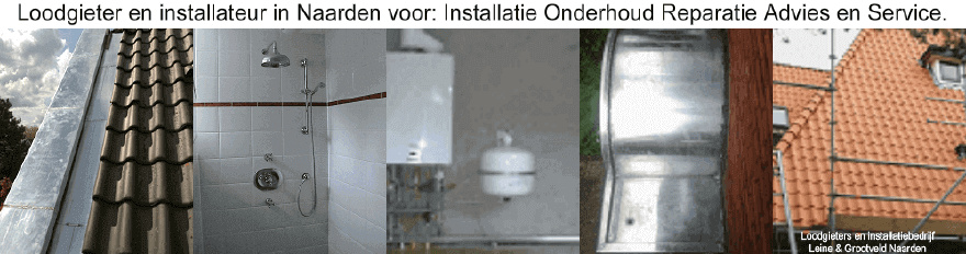Loodgieter voor: