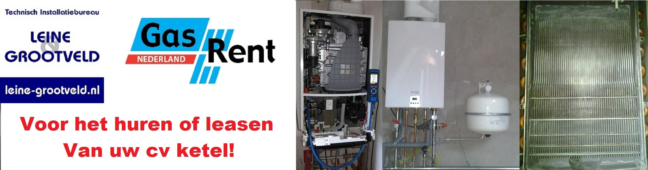 cv ketel huren of leasen Naarden Bussum Hilversum Muiderberg Muiden Huizen Almere laren Gooise-meren