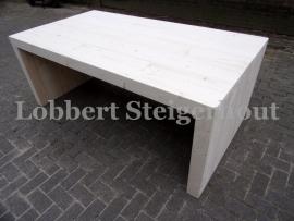 Steigerhouten tafel Nienke