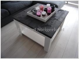 Nieuw!! Steigerhouten Salontafel Mandy 60 x 60 cm