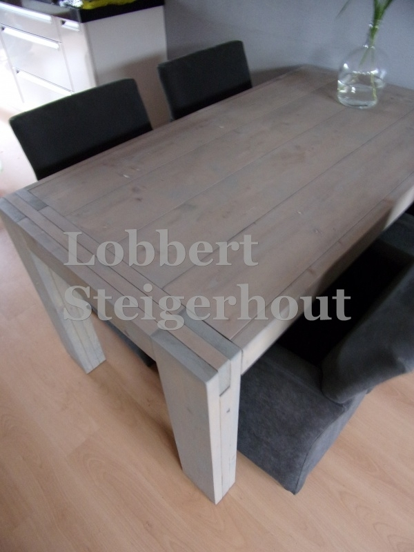 Steigerhouten design tafel Anke
