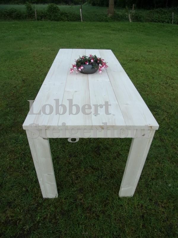 Steigerhouten tafel Ilona