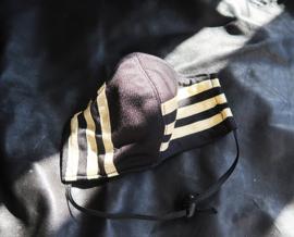 Adidas mask blck-Gold