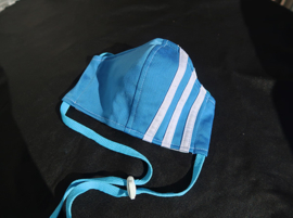 Adidas mask L.blue blue cord