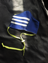 Adidas blauw-lime
