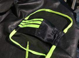 Adidas black lime R
