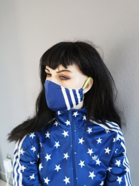Adidas blauw-wit lime