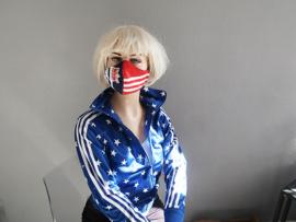 Adidas mask Rood -wit blauw
