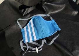 Adidas mask l.blue grey cord