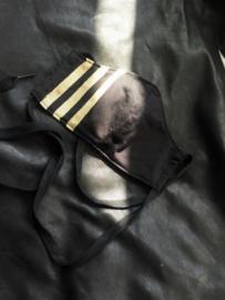 Adidas Black -Gold