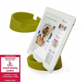KITCHEN TABLET STAND GREEN