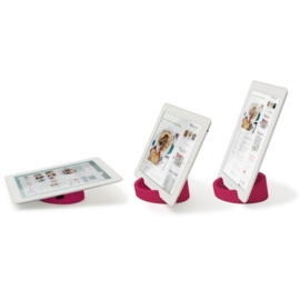 KITCHEN TABLET STAND PINK