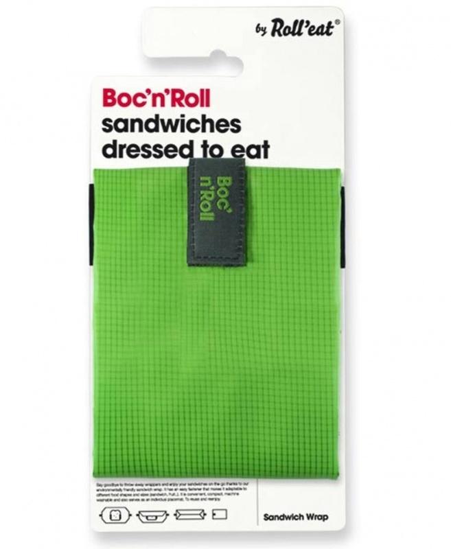 Boc`n Roll duurzaam broodzakje groen